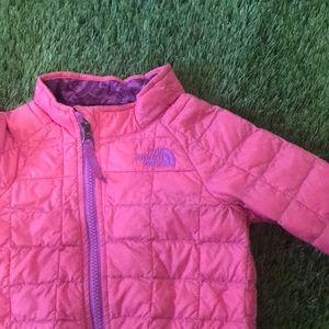 Bright Pink North Face Jacket